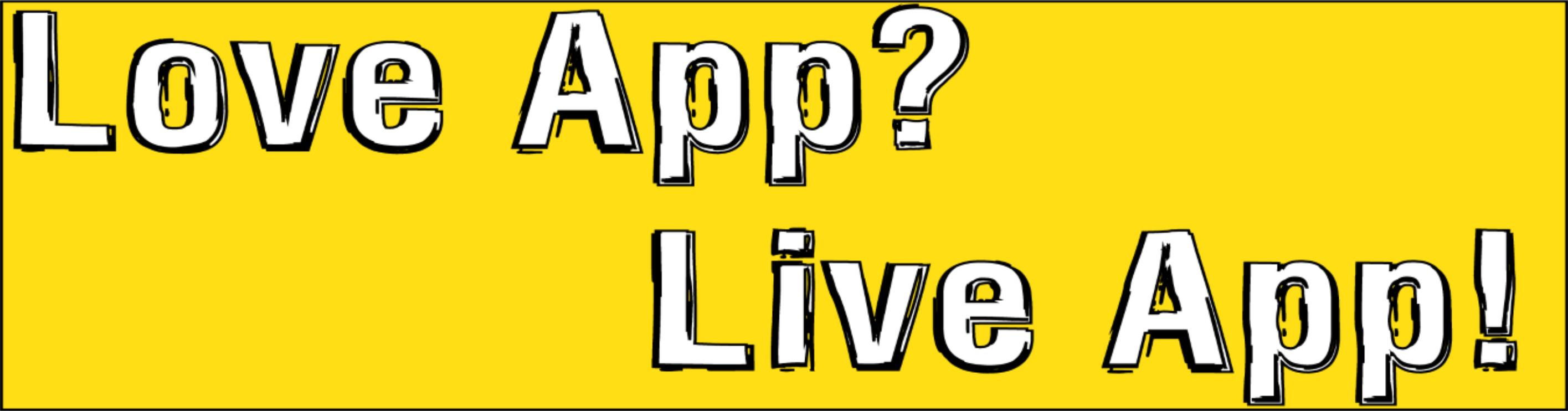 Love App Live App logo